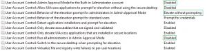 uac aanpassing file servers